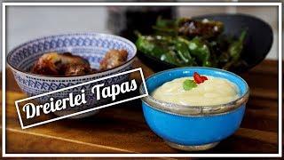 Tapas für zu Hause   Aioli, Pimientos, Datteln im Speckmantel   Felicitas Then   Pimp Your Food