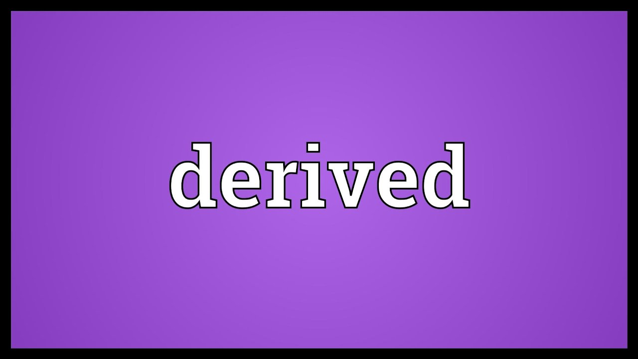 Download Derived Meaning