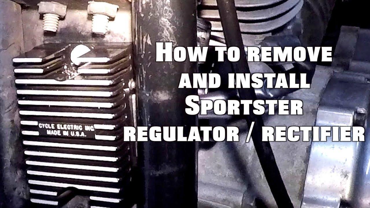 sportster voltage regulator rectifier