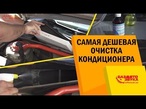 Самая дешевая очистка кондиционера в авто. Как чистить кондиционер своими руками.