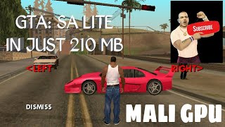 🔥🔥GTA: SA LITE IN 210 MB FOR MALI GPU WITH CLEO AND CHEATS DOWNLOAD LINK IN DESCRIPTION🔥🔥
