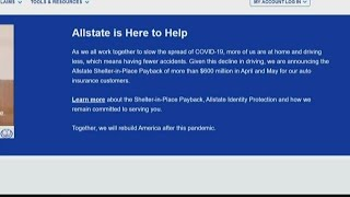 Allstate providing shelter-in-place payback, payment relief to auto insurance customers, free identi