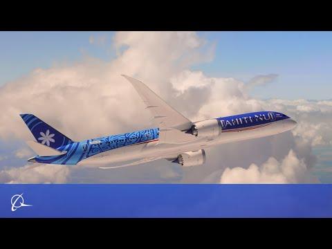 Air Tahiti Nui Flying Display