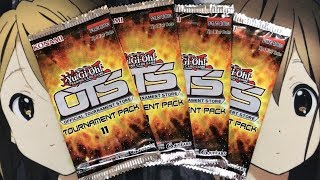 Opening Four Yugioh OTS Tournament Pack 11 Booster Packs