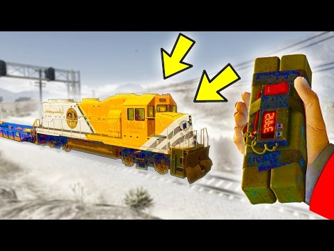 THIS SHOULD STOP THE TRAIN IN GTA 5!
