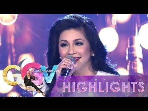GGV: Regine Velasquez-Alcasid sings  Araw Gabi