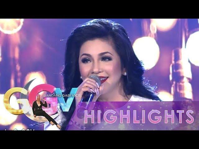 """GGV: Regine Velasquez-Alcasid sings """"Araw Gabi"""""""