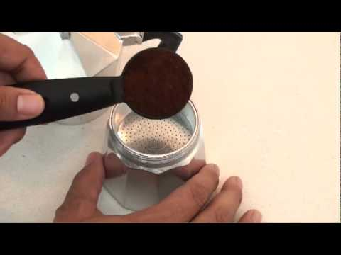 How To Make Cuban Coffee Using Espresso Stove Top Coffeemaker With IMUSA
