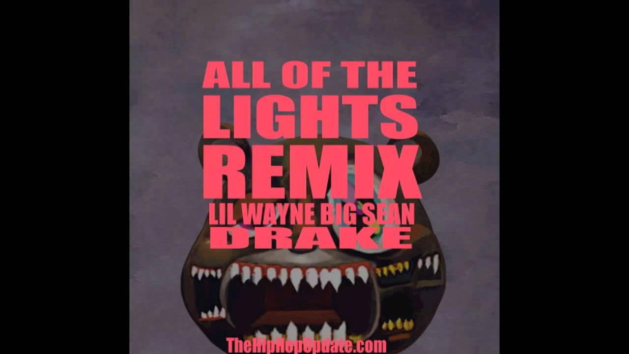 All of the Lights Remix - Kanye West ft  Lil Wayne , Drake & Big Sean (HD)
