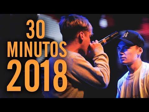 ¡Los 30 MEJORES MINUTOS del AÑO 2018! | Batallas De Gallos (Freestyle Rap)