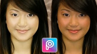 Cara Memutihkan Wajah Tanpa Mengubah Warna Background di Picsart | Tutorial