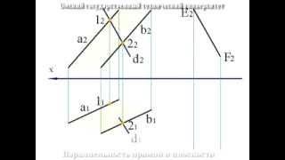 5. Взаимное положение прямой и плоскости