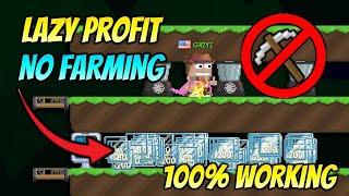 INSANE LAZY PROFIT METHOD 2021 [NO FARMING] 100% WORKING - GROWTOPIA PROFIT 2021   GRZYZ GT