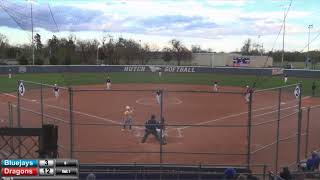 Blue Dragon Softball vs. Tabor JV (Game 2)