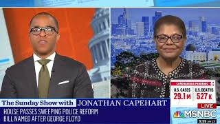 Rep. Bass Calls On Senate To Act On Police Reform