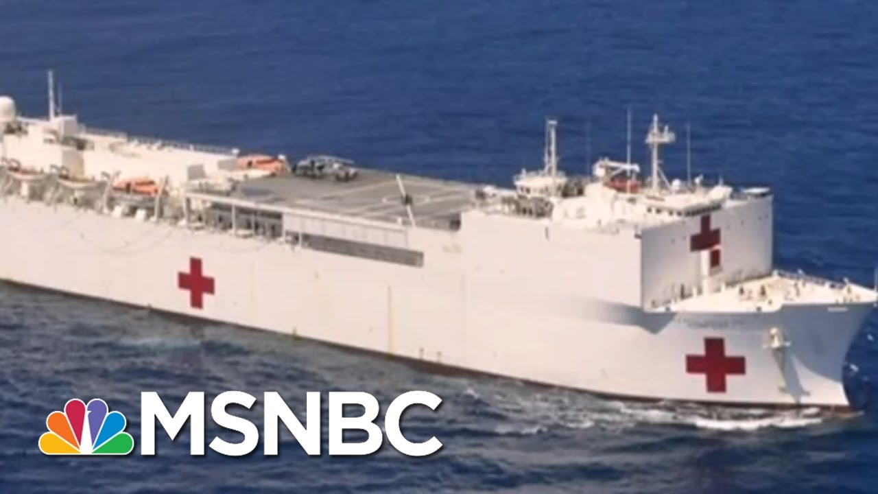 Andrew Cuomo: Navy Ship Acting As 'Floating Hospital' To Be Dispatched To New York | MSNBC