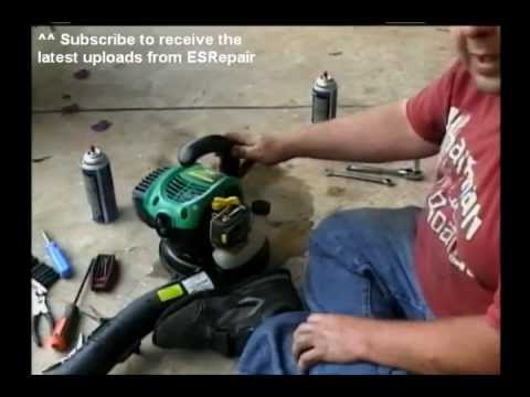 Your brand new leaf blower wont start? Try this simple fix.