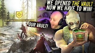 HUNTED WHILE LOOTING THE VAULT! FT. BASICALLYIDOWRK, COURAGEJD & NADESHOT