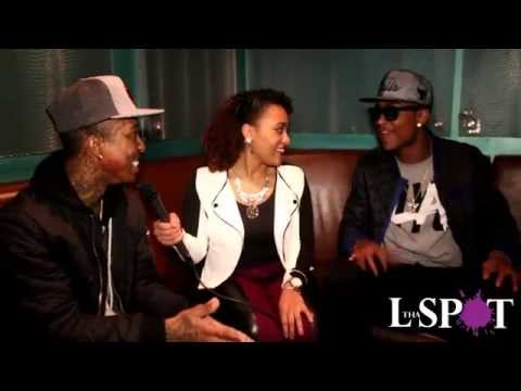 Camille Jay Interviews Slick Pusha & Jonoe @ Faces In The Crowd Showcase