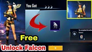 How to Unlock Falcon PUBG Mobile   Free To Unlock Your Companion PUBG Mobile
