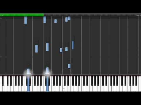 Vangelis - Memories of Green (Blade Runner OST) - Instrumental Piano Cover (Synthesia Tutorial)