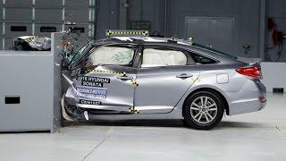 Краш тест автомобилей 2016