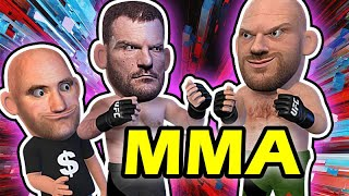 Stipe Miocic VS Tyson Fury PART 2 MMA