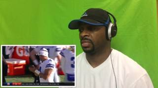 Tony Romo Leads TD Drive on His 1st Game of the Season! | NFL Week 17 Highlights |  Reaction