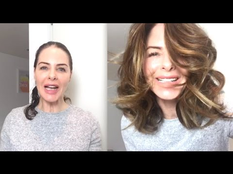 How I Do My Curls - Blow Dry Tutorial Part 1 | TRINNY