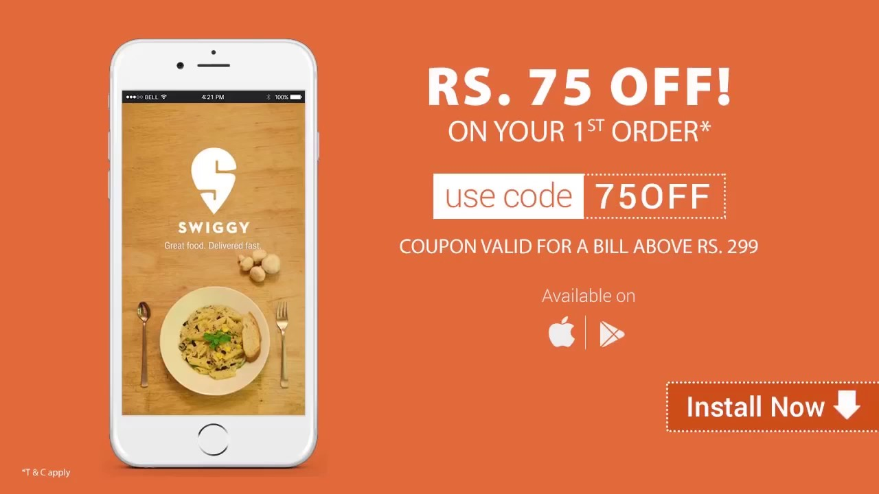 Swiggy lightning fast delivery
