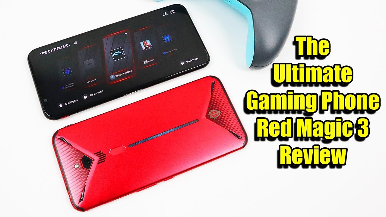 Nubia Red Magic 3 Review - The Ultimate Gaming / Emulation Phone - It Has A  Built in Cooling Fan