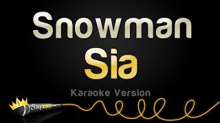 Download Sia - Snowman (Karaoke Version)