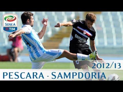 Pescara - Sampdoria - Serie A 2012/13 - ENG
