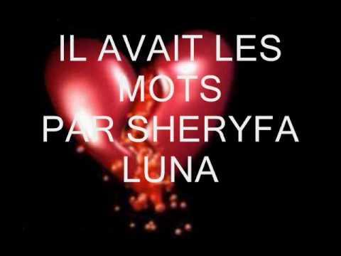 sheryfa luna- il avait les mots (lyrics)