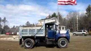 Mack 685 Model Single Axle Dump Truck