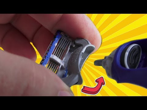 How to replace Gillette Fusion ProGlide Styler Razor blades