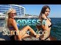 ОДЕССА 10-я станция Фонтана: хороший пляж или нет ?! ODESSA BEACH VLOG