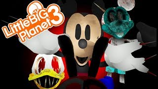 ONLY ONE LIVES! | Little Big Planet 3 Multiplayer (105) Abandoned By Disney