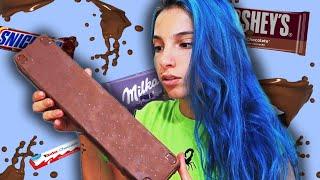MEZCLE MUCHOS CHOCOLATES PARA HACER SOLO UNO