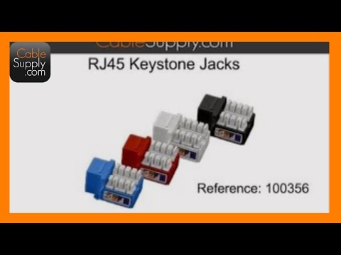 RJ45 Pinout - Cat5E, Cat6 - YouTube