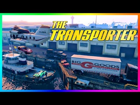 "GTA ONLINE ""TRANSPORTER"" FREEMODE SPECIAL - IMPORTING/EXPORTING GTA 5 CARS & VEHICLE CHALLENGES!"