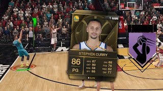 STEPH CURRY IS THE BEST PLAYER IN NBA LIVE 18 ULTIMATE TEAM?!