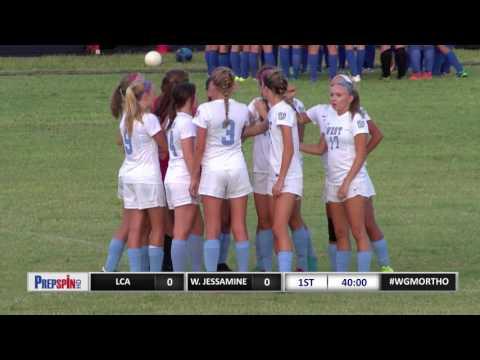 LCA at West Jessamine  - Girls High School Soccer