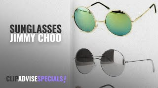 Top 10 Sunglasses Jimmy Choo [2018]: Younky Uv Protected Combo Of 3 Round Men