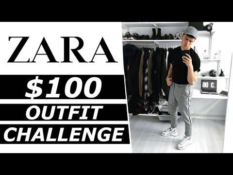 $100 Zara Outfit Challenge | Gallucks
