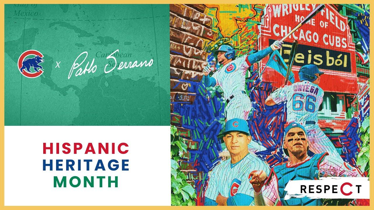 Hispanic Heritage Month Collection | Cubs x Pablo Serrano