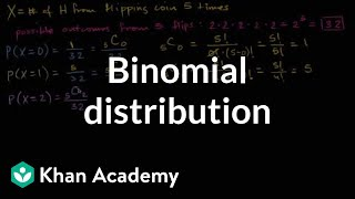 Binomial distribution | Probability and Statistics | Khan Academy thumbnail