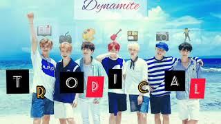 BTS Dynamite (Tropical Remix) 1 hour loop