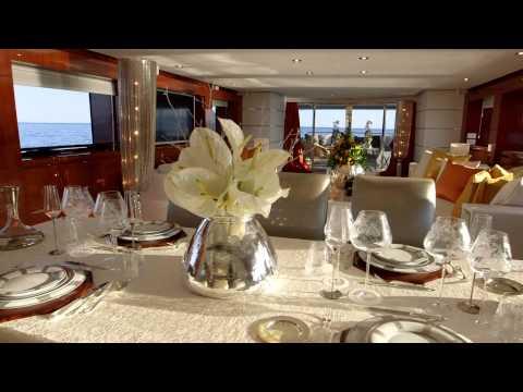 STEFANO RICCI & ANTICO SETIFICIO FIORENTINO on board of a 41m Super Yacht by Mondo Marine