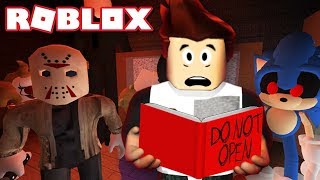 READING SCARY STORIES IN ROBLOX